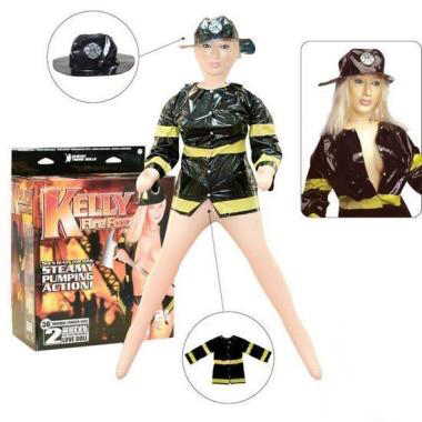 Kelly nafukovací panna hasička